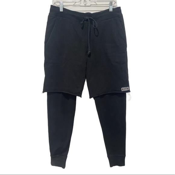Kith hybrid shorts joggers.